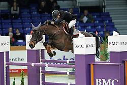 Vermeir Wilm (BEL) - Bernadien van Westuur<br /> Jumping Indoor Zuidlaren 2010<br /> © Hippo Foto - Leanjo de Koster