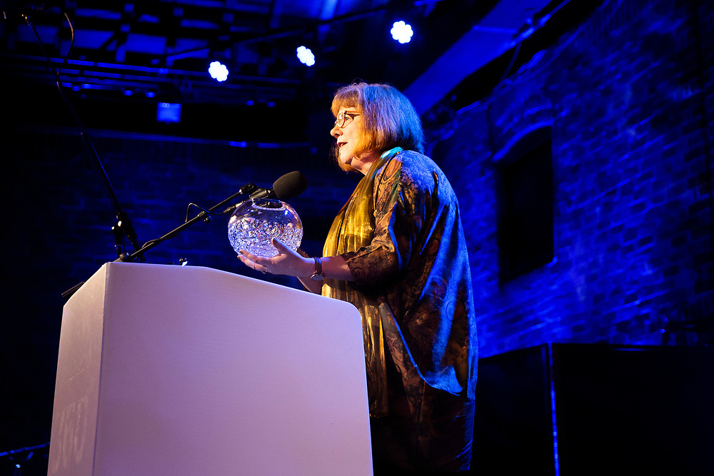 Royal Philharmonic Society Executive Director Rosemary Johnson<br /> Photographed at the RPS Music Awards, London, Wednesday 9 May<br /> Photo credit required:  Simon Jay Price<br /> www.rpsmusicawards.com  #RPSMusicAwards
