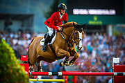 Marcus EHNING (GER) riding Pret A Tout during the Nations Cup of the World Equestrian Festival, CHIO of Aachen 2018, on July 13th to 22th, 2018 at Aachen - Aix la Chapelle, Germany - Photo Christophe Bricot / ProSportsImages / DPPI