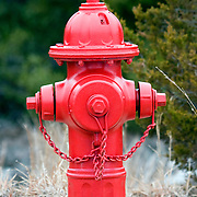 Fire Hydryant along rural road