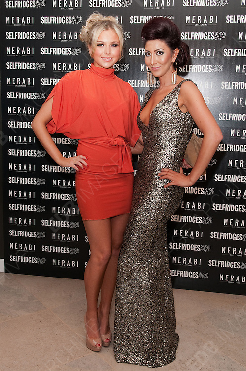 24.OCTOBER.2012. MANCHESTER<br /> <br /> CHLOE CUMMINGS AND NADINE MERABI AT THE LAUNCH OF MERABI COTURE AT SELFRIDGES, TRAFFORD CENTRE, MANCHESTER.<br /> <br /> BYLINE: EDBIMAGEARCHIVE.CO.UK<br /> <br /> *THIS IMAGE IS STRICTLY FOR UK NEWSPAPERS AND MAGAZINES ONLY*<br /> *FOR WORLD WIDE SALES AND WEB USE PLEASE CONTACT EDBIMAGEARCHIVE - 0208 954 5968*