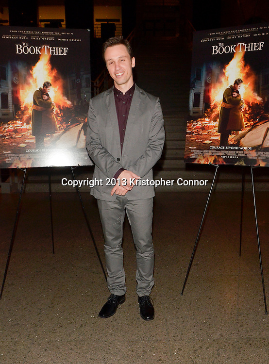 """WASHINGTON, DC - NOVEMBER 7: XXX attends the premiere of """"The Book Thief,"""" sponsored by the US Holocaust Museum at the United States Holocaust Memorial Museum on November 7, 2013 in Washington, DC. (Photo by Kris Connor/20th Century Fox)"""