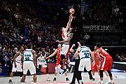 Palla a Due<br /> A X Armani Exchange Olimpia Milano - Pallacanestro Cantu\<br /> Basket Serie A LBA 2019/2020<br /> Milano 05 January 2020<br /> Foto Mattia Ozbot / Ciamillo-Castoria
