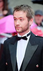 "Edinburgh International Film Festival, Sunday 26th June 2016<br /> <br /> Stars turn up on the closing night gala red carpet for the World Premiere of ""Whisky Galore!""  at the Edinburgh International Film Festival 2016<br /> <br /> Sean Biggerstaff who plays Sergeant Odd in the film.<br /> <br /> (c) Alex Todd 