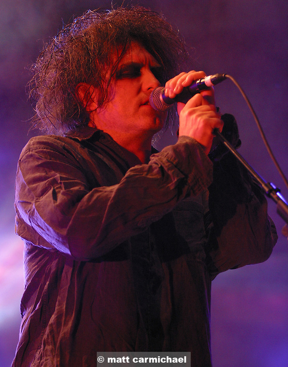 Robert Smith of the Cure.