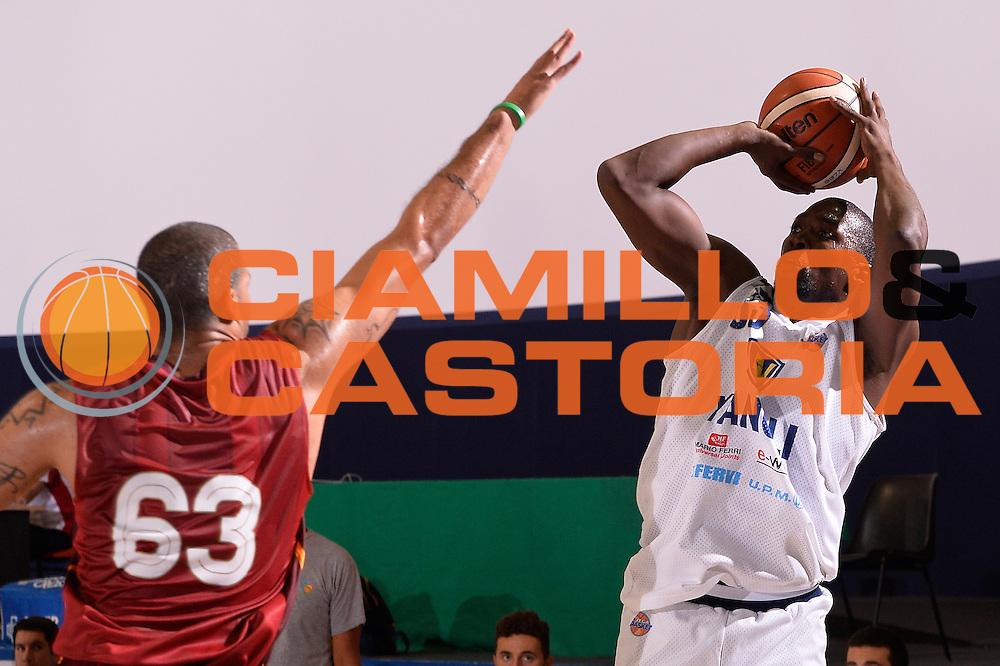 Omar Thomas<br /> Vanoli Cremona - Galatasaray<br /> Lega Basket Serie A 2016/2017<br /> Bormio 03/09/2016<br /> Foto Ciamillo-Castoria