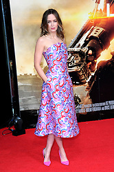 Emily Blunt at the London premiere of Edge of Tomorrow, the first of three premiere's for the film to be held in three different countries on the same day, Wednesday, 28th May 2014. Chris Joseph  / i-Images