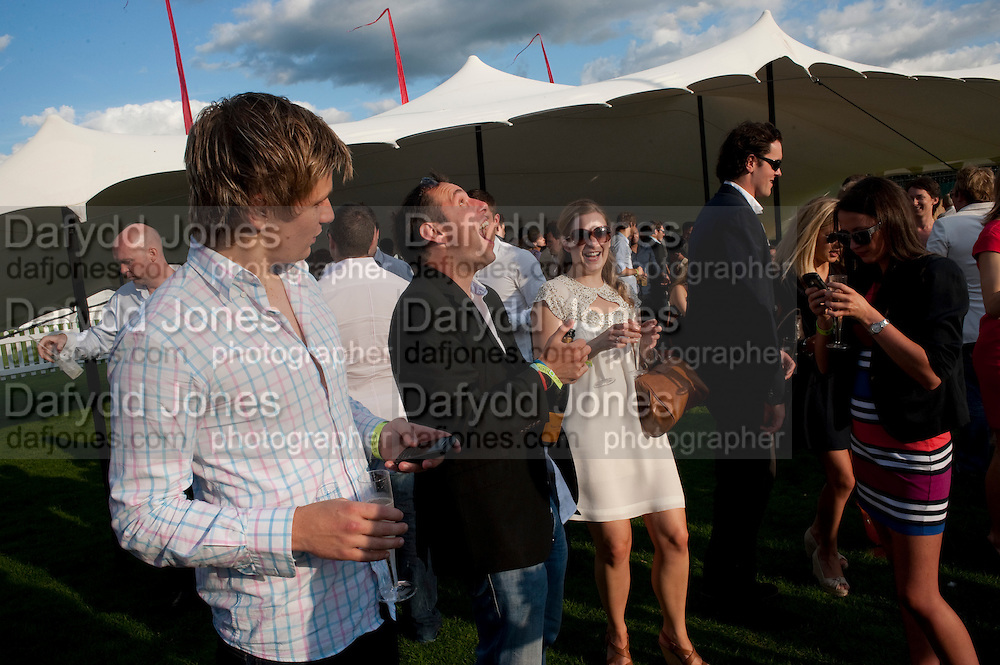 After party at China White's club. Cartier International Day at Guard Polo Club, Windsor Great Park. 24 July 2011. ChinaWhite Tent during Cartier Polo. <br /> <br />  , -DO NOT ARCHIVE-© Copyright Photograph by Dafydd Jones. 248 Clapham Rd. London SW9 0PZ. Tel 0207 820 0771. www.dafjones.com.