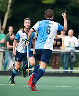 AMSTELVEEN   -  Christiaan Stroboer. van Hurley heeft gescoord.   1e wedstrijd Hurley-Almere (2-2), Hurley wint so.  play offs/ Play outs.   COPYRIGHT  KOEN SUYK