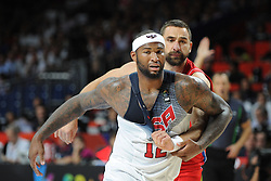 DeMarcus Cousins of USA during the 2014 FIBA World Basketball Championship Final match between USA and Serbia at the Palacio de los Deportes, on September 14, 2014 in Madrid, Spain. Photo by Tom Luksys  / Sportida.com <br /> ONLY FOR Slovenia, France