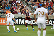 July 24th, 2012:  Colorado Rapids defender Hunter Freeman (2) in the  Rapids 2-1 win over Swansea City AFC in a international friendly soccer match in Denver, CO.