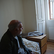 Nikkunj in his room in the Hotel Dani. There are 45 rooms in the hostel accommodating individuals and families. Nikkunj, September 2013.