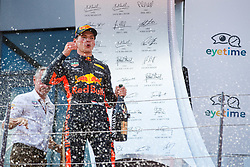 July 1, 2018 - Spielberg, Austria - Motorsports: FIA Formula One World Championship 2018, Grand Prix of Austria, .#33 Max Verstappen (NLD, Aston Martin Red Bull Racing) (Credit Image: © Hoch Zwei via ZUMA Wire)