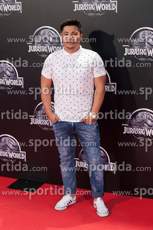 11.06.2015, Madrid, ESP, Jurassic World, Premiere, im Bild Oscar Reyes // attends // to the Jurassic World film premiere in Madrid, Spain on 2015/06/11. EXPA Pictures &copy; 2015, PhotoCredit: EXPA/ Alterphotos/ Victor Blanco<br /> <br /> *****ATTENTION - OUT of ESP, SUI*****