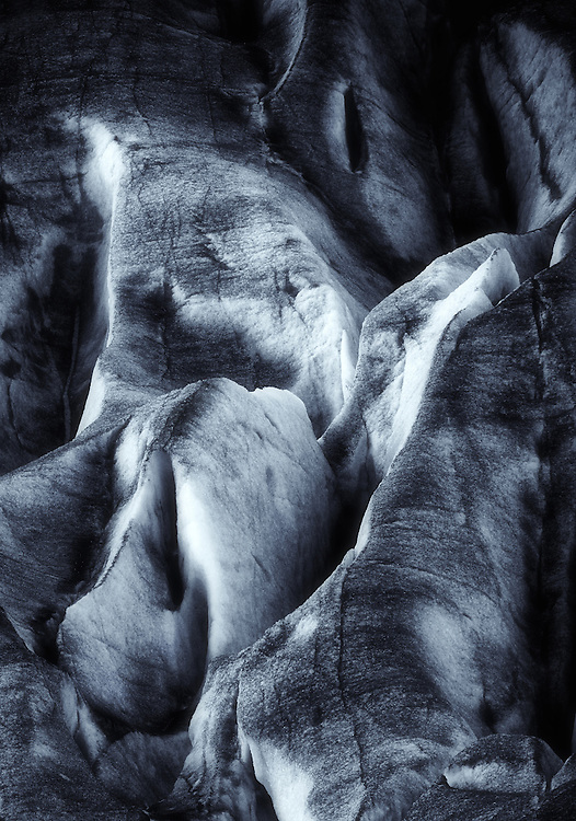 Switzerland - Detail of Rhone glacier