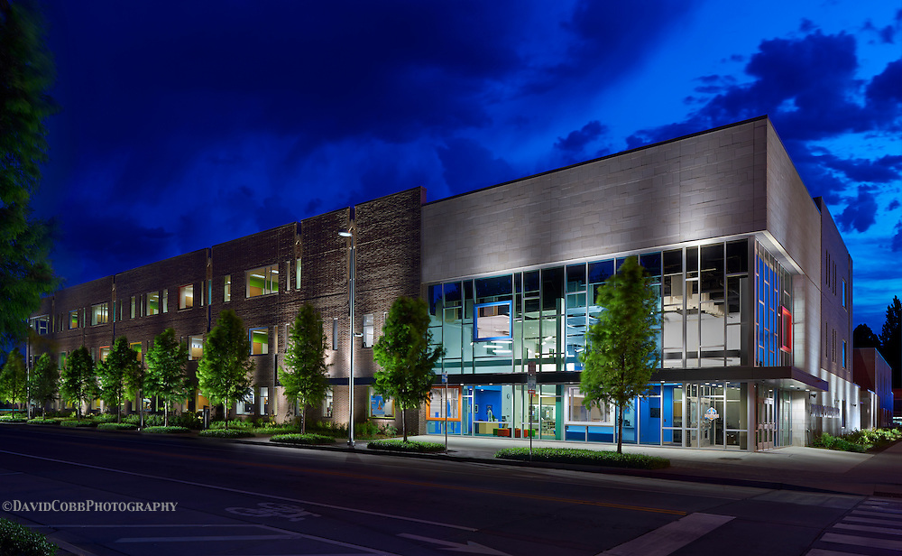 John Rex Charter Elementary School in Oklahoma City photographed by David Cobb Photography for TAP Architecture