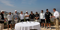 Skippers pick their opponent for the quarter finals. Photo: Chris Davies/WMRT