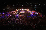 Picture by Richard Gould/Focus Images Ltd +44 7855 403186<br /> 13/07/2013<br /> There is a big crowd waiting Luke Campbell to enter the arena pictured during their Lightweight contest at Craven Park, Hull.