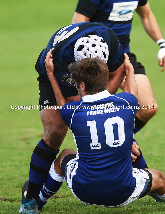 University v Ponsonby. Auckland Premier Club Rugby. Alan McEvoy Memorial Shield. Auckland, New Zealand. Saturday 6 June 2015. Copyright Photo: Andrew Cornaga / www.Photosport.co.nz