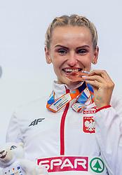 04-02-2017  SRB: European Athletics Championships indoor day 2, Belgrade<br /> Bronze Justyna Swiety POL