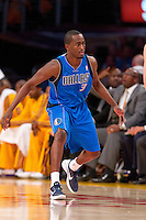 30 October 2012: Guard (3) Rodrique Beaubois of the Dallas Mavericks against the Los Angeles Lakers during the first half of the Mavericks 99-91 victory over the Lakers at the STAPLES Center in Los Angeles, CA.
