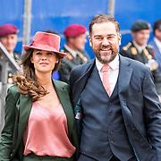 NLD/Den Haag/20180918 - Prinsjesdag 2018, Klaas Dijkhoff en partner Anouk