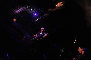 Birelli Lagrène live at La Spirale, 17 & 18. mai 2013. Avec son nouveau quartett Bireli Lagrène revient au jazz, au blues et à un son plus électrique. Bireli Lagrène (g), Franck Wolf (ts, ss), Jean-Yves Jung (Hammond organ), Jean-Marc Robin (dm). © Romano P. Riedo | fotopunkt.ch
