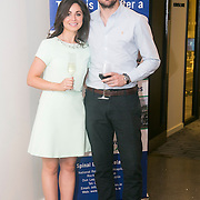 No Repro Fee<br /> 02/04/2015<br /> Pictured at the Spinal Injuries Ireland Lunch at the Marker Hotel, Dublin were<br /> Kate Crowley (left) and Kevin Ryan.<br /> Pic: Alan Rowlette