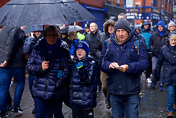 LIVERPOOL, ENGLAND - Sunday, March 3, 2019: Everton supporters arrive before the FA Premier League match between Everton FC and Liverpool FC, the 233rd Merseyside Derby, at Goodison Park. (Pic by Laura Malkin/Propaganda)