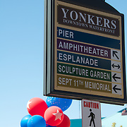 The 18th Annual Yonkers Riverfest taking place on  Saturday, September 11, 2010, with international foods, crafts, amusements, exhibits and a variety of entertainment.