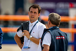 ALVAREZ MOYA Sergio (ESP)<br /> Rotterdam - Europameisterschaft Dressur, Springen und Para-Dressur 2019<br /> Parcoursbesichtigung<br /> Longines FEI Jumping European Championship - 1st part - speed competition against the clock<br /> 1. Runde Zeitspringen<br /> 21. August 2019<br /> © www.sportfotos-lafrentz.de/Stefan Lafrentz