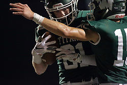 {BLOOMINGTON, IL: Zach Walsh during a college football game between the IWU Titans  and the Wheaton Thunder on September 15 2018 at Wilder Field in Tucci Stadium in Bloomington, IL. (Photo by Alan Look)