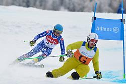 HARAUS Miroslav Guide: HUDIK Maros, B2, SVK at 2018 World Para Alpine Skiing Cup, Kranjska Gora, Slovenia