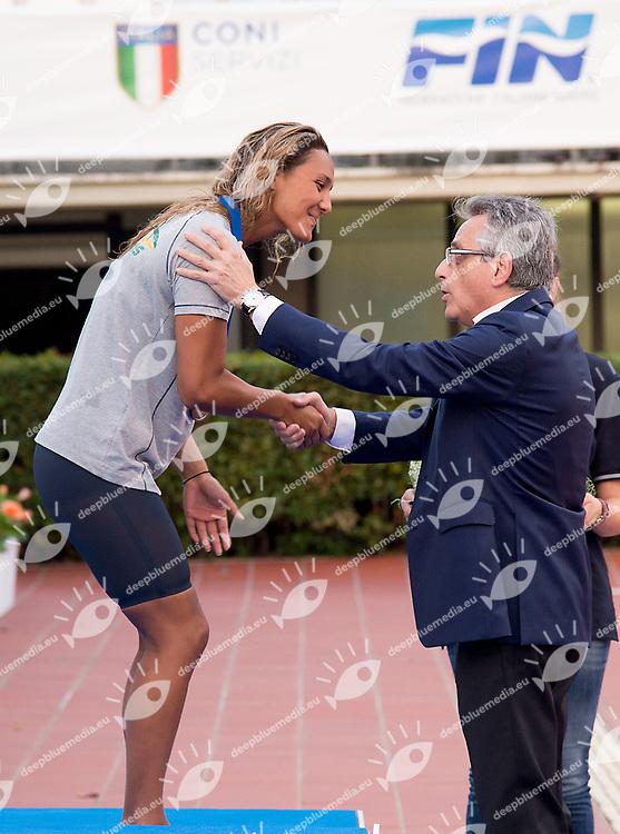 award ceremony <br /> <br /> day 03 25-06-2017<br /> Stadio del Nuoto, Foro Italico, Roma<br /> FIN 54mo Trofeo Sette Colli 2017 Internazionali d'Italia<br /> <br /> Photo Giorgio Scala/Deepbluemedia/Insidefoto