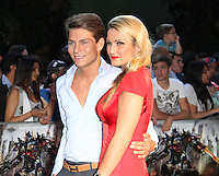 Sam Faiers; Joey Essex Transformers: Dark Of The Moon screening, BFI IMAX , London, UK, 26 June 2011:  Contact: Rich@Piqtured.com +44(0)7941 079620 (Picture by Richard Goldschmidt)