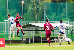 Luka KERIN vs Kristjan ARH CESEN Football match between NK Triglav Kranj and NK Celje, on May 12, 2019 in Sport center Kranj, Kranj, Slovenia. Photo by Peter Podobnik / Sportida