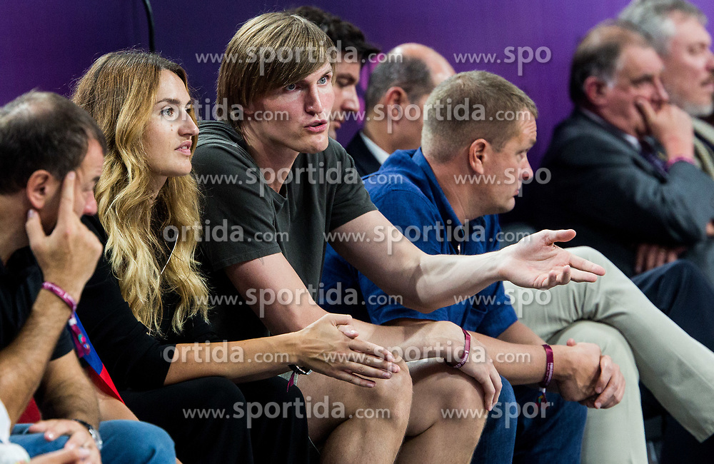 Andrei Kirilenko, former player of Russia during basketball match between National Teams of Russia and Serbia at Day 16 in Semifinal of the FIBA EuroBasket 2017 at Sinan Erdem Dome in Istanbul, Turkey on September 15, 2017. Photo by Vid Ponikvar / Sportida