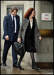 Rebekah and Charlie Brooks arrive at the The Old Bailey, London, United Kingdom, for Phone Hacking Trial ,Monday, 18th November 2013. Picture by Andrew Parsons / i-Images