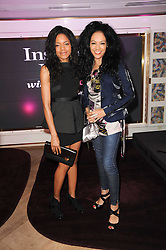 Left to right, NAOMIE HARRIS and KANYA KING at a party to promote Marie Claire magazine Inspire & Mentor Campaign held at The Loft, The Ivy Club, West Street, London on 30th March 2010.