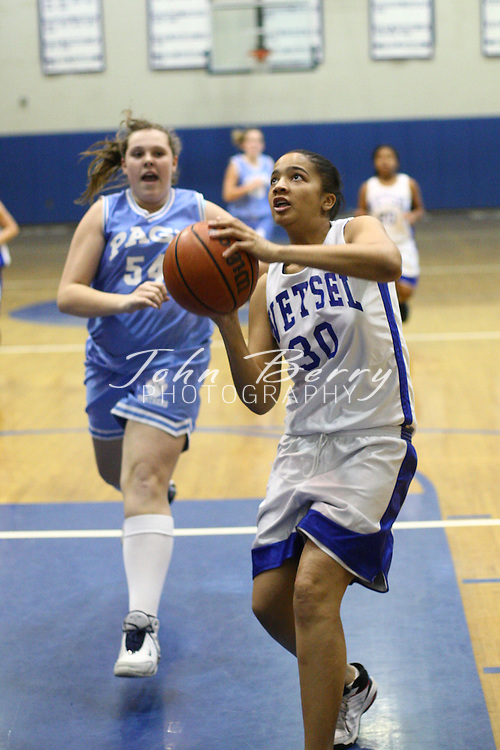 Wetsel Girls Basketball.vs Page.12/19/2007..