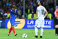 Esultanza Gol  Antoine Griezmann France Goal celebration <br /> Marseille 15-06-2016 Stade du Velodrome <br /> Football Euro2016 France - Albania / Francia - Albania Group Stage Group A<br /> Foto Massimo Insabato / Insidefoto