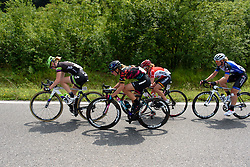 A small break forms but doesnt get far at Giro Rosa 2016 - Stage 4. A 98.6 km road race from Costa Volpino to Lovere, Italy on July 5th 2016.