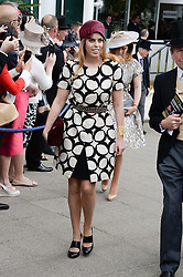 PRINCESS BEATRICE OF YORK at the Investec Derby 2013 held at Epsom Racecourse, Epsom, Surrey on 1st June 2013.