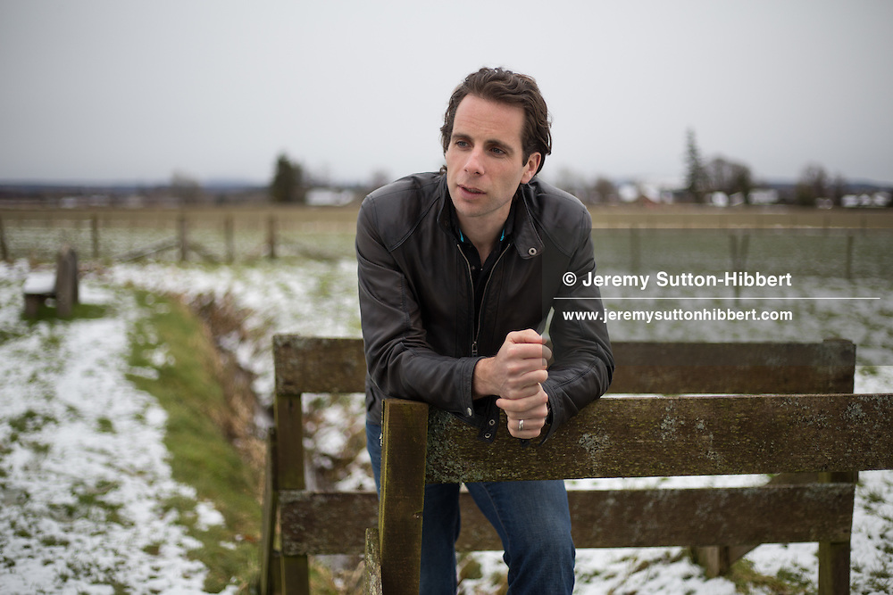 Adventurer and cyclist Mark Beaumont, at home in Perthshire, Scotland, on 2 March, 2016.