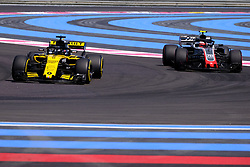 June 22, 2018 - Le Castellet, Var, France - Renault Driver 27 NICO HULKENBERG (GER) in action during the Formula one French Grand Prix at the Paul Ricard circuit at Le Castellet - France (Credit Image: © Pierre Stevenin via ZUMA Wire)