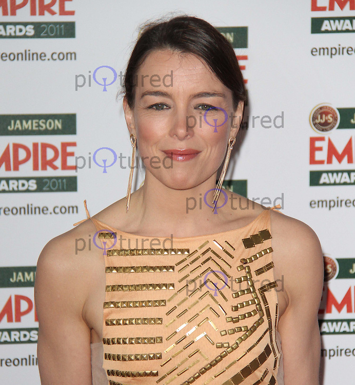 Olivia Williams Jameson Empire Awards, Grosvenor House Hotel, Park Lane, London, UK, 27 March 2011:  Contact: Rich@Piqtured.com +44(0)7941 079620 (Picture by Richard Goldschmidt)