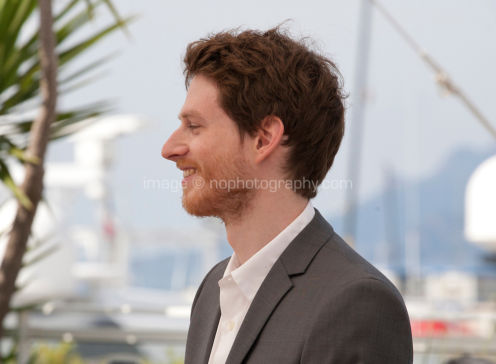 Actor Olivier Bonnaud at The Unknown Girl (La Fille Inconnue)  film photo call at the 69th Cannes Film Festival Wednesday 18th May 2016, Cannes, France. Photography: Doreen Kennedy