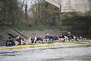 London, Great Britain, Oxford, Pleasure. exausted after the  the  BNY Mellon, 2016 University Men's Boat Race, Putney to Mortlake. ENGLAND. <br /> <br /> Sunday 13.12.2015<br /> <br /> [Mandatory Credit; Peter Spurrier/Intersport-images]