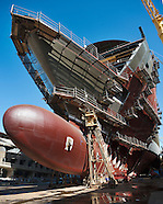 """Construction du """"MSC DIVINA"""" / Chantiers navals de Saint-Nazaire"""