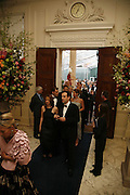 Ark Gala Dinner, Marlborough House, London. 5 May 2006. ONE TIME USE ONLY - DO NOT ARCHIVE  © Copyright Photograph by Dafydd Jones 66 Stockwell Park Rd. London SW9 0DA Tel 020 7733 0108 www.dafjones.com
